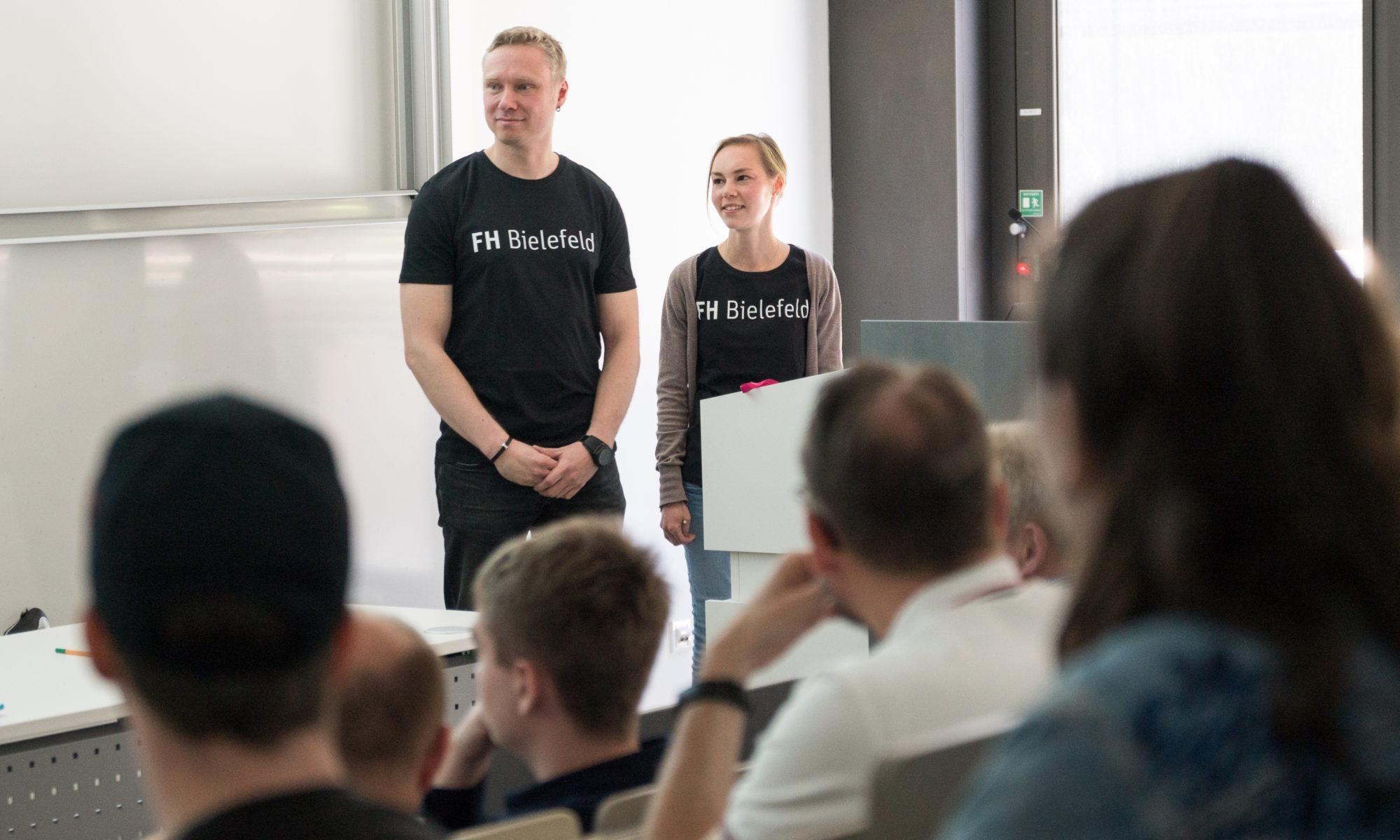 FhBielefeld_Lotte Prädikow und Malte Wattenberg